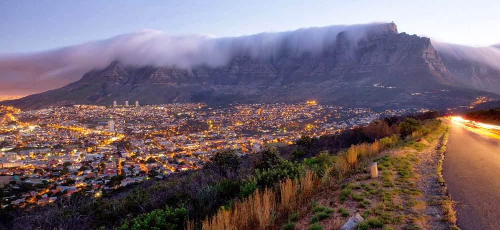 Capetown Signal hill view